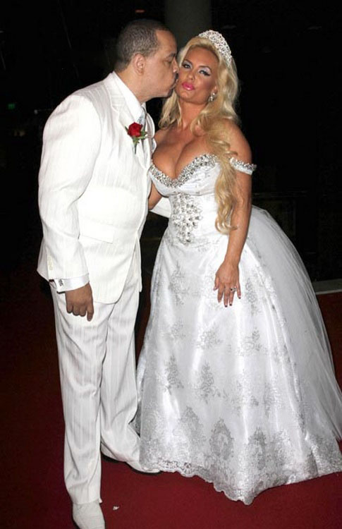 Ice T Amp Coco Wedding Vow Renewal Ceremony Coco Shows A
