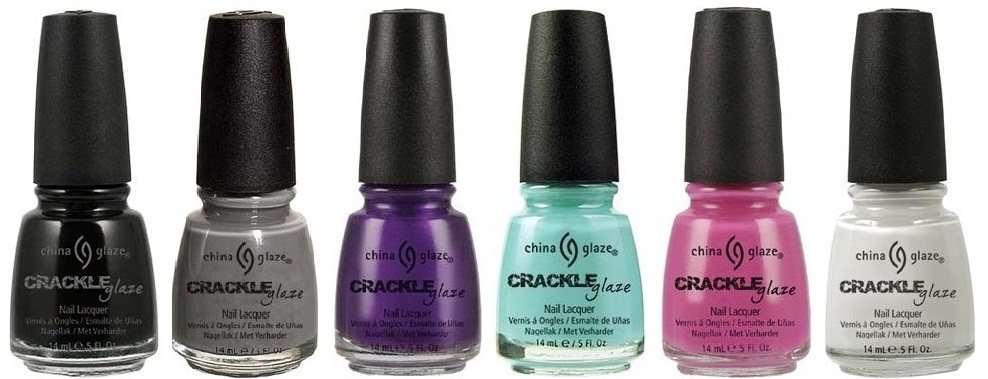 Fashion Polish: Crackle, Shatter, Texture, Fractured ...