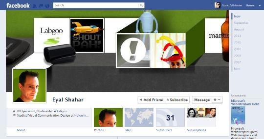 facebook timeline creative profile 10
