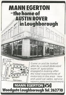 1984 Advert - Mann Egerton Woodgate Loughborough