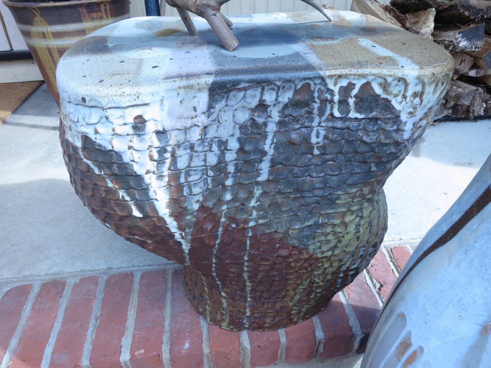 An old farm outdoor clay garden seats for Roxul vs fiberglass