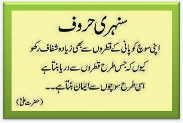 Islamic Quotes And Wallpapers Pyari Batein Golden Words By Hazrat Ali