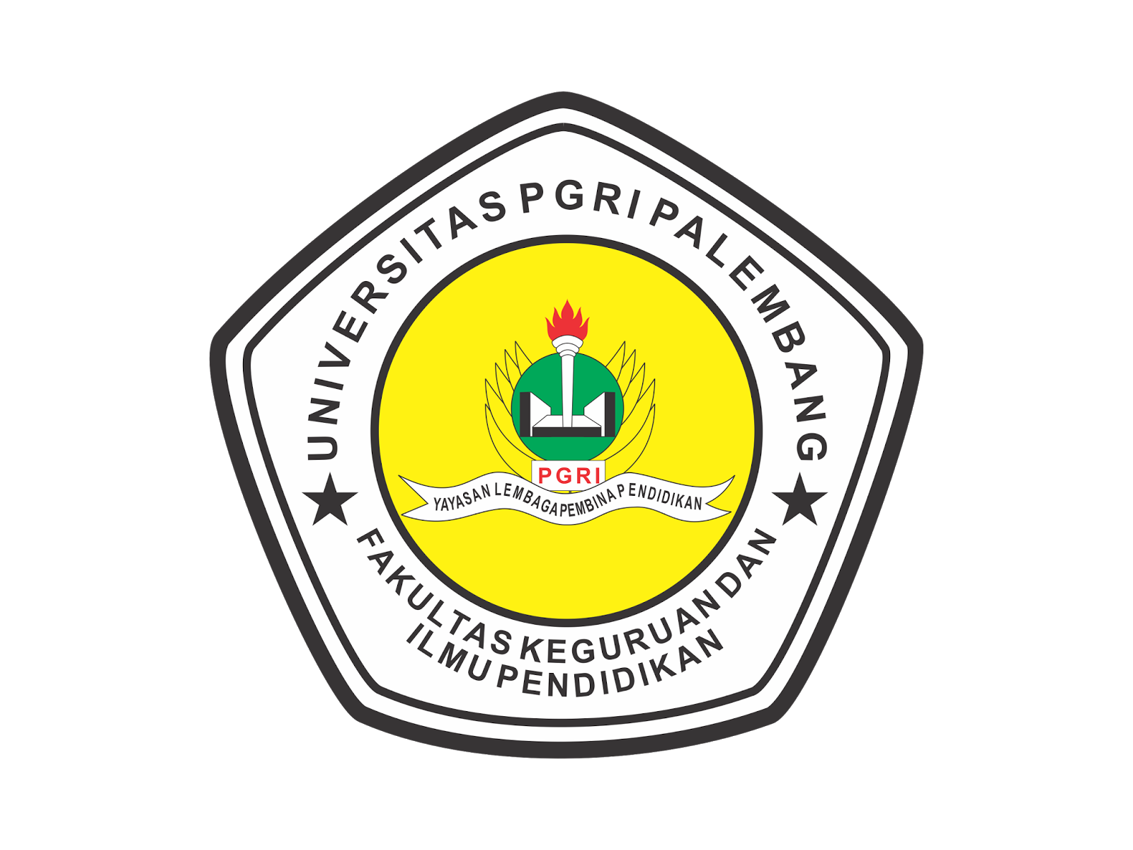 logo universitas pgri palembang vector cdr amp png hd