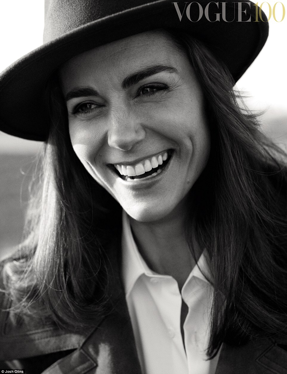 Kate Middleton is elegant for British Vogue's 100th Anniversary Issue