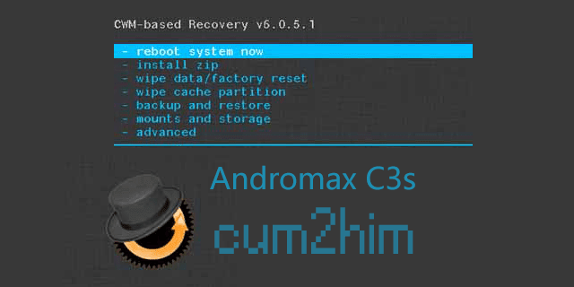 Cara Install CWM Andromax C3s Tanpa PC
