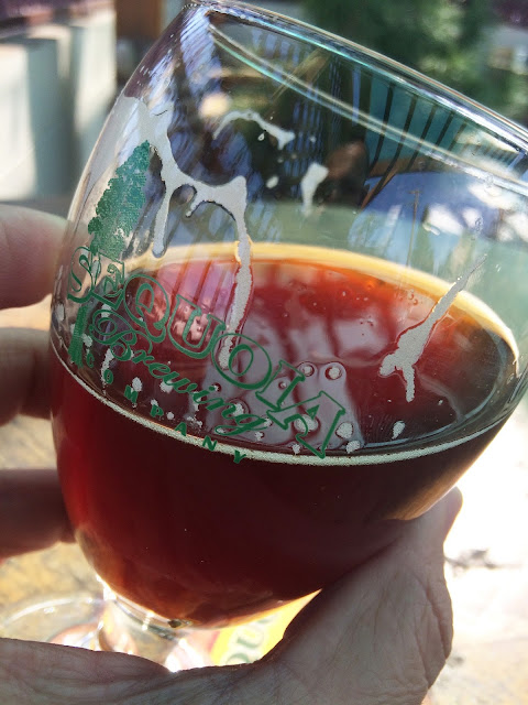 Sequoia Brewing Scotch Pine Wee Heavy Ale 4