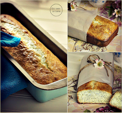Easy recipe for Lemon Poppy Seeds Bread