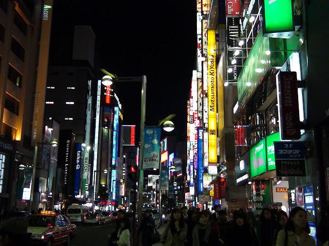 Shinjuku de noche