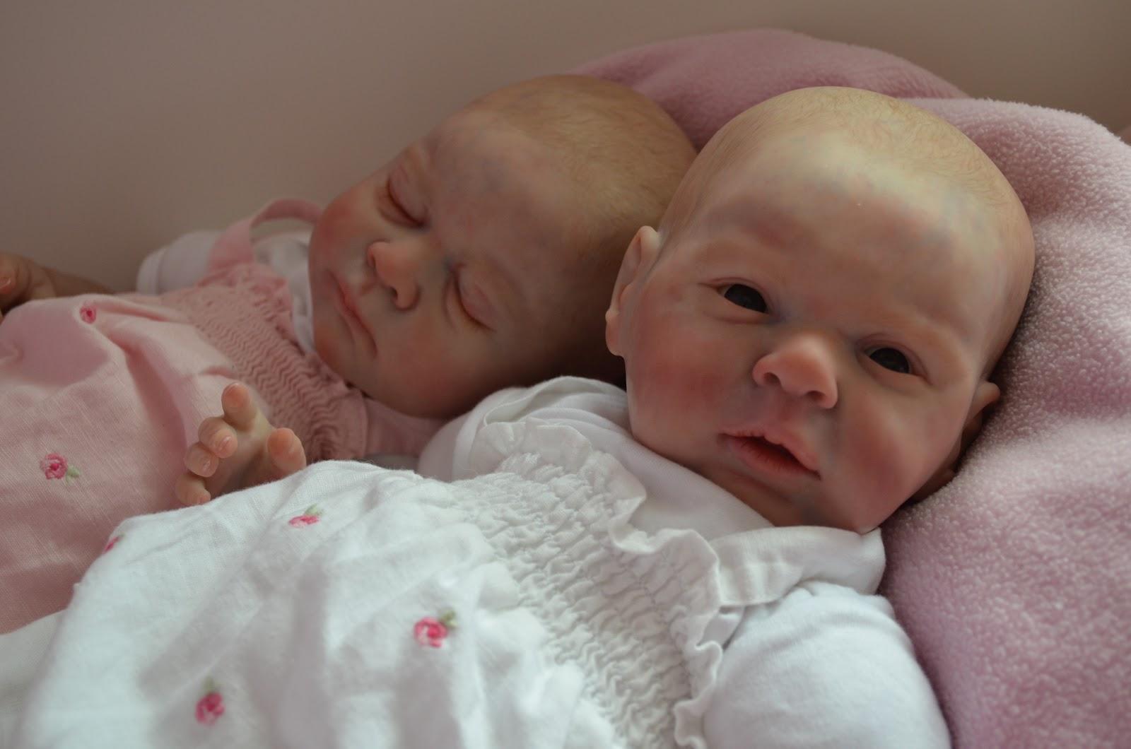 Tamara Evie: Reborn Baby Doll Twins