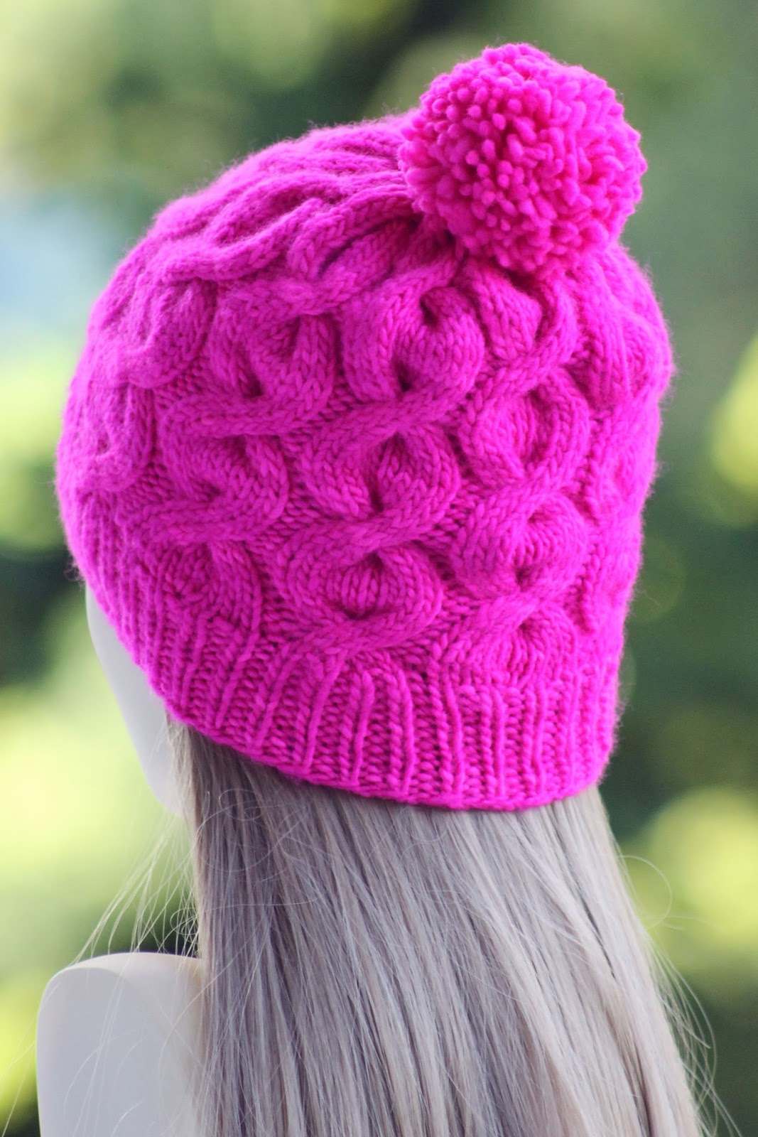 Balls to the Walls Knits: Lollipop Beanie