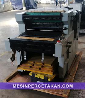 mesin percetakan perforator xsheen 570