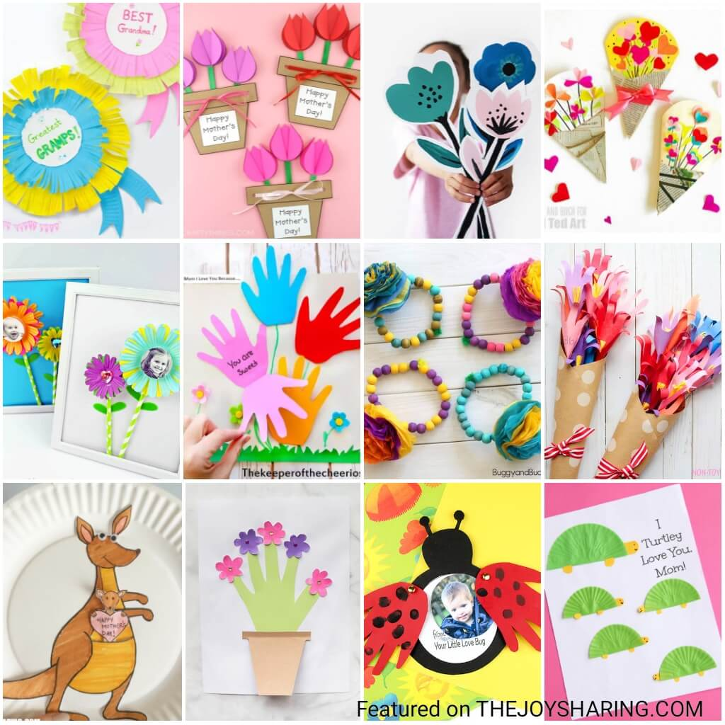 25 Mother S Day Crafts The Joy Of Sharing