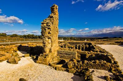 Termas de la Ciudad Romana de Cáparra