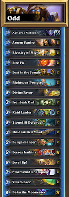 Odd Dude Paladin Witchwood Standard Hearthstone Decklist Guide 1