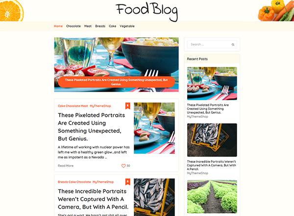MyBlog Blogging WordPress Theme