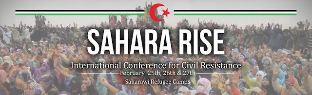 """تنظيم المؤتمر الدولي حول المقاومة السلمية بالصحراء الغربية تحت عنوان """"الصحراء تنتفض"""""""