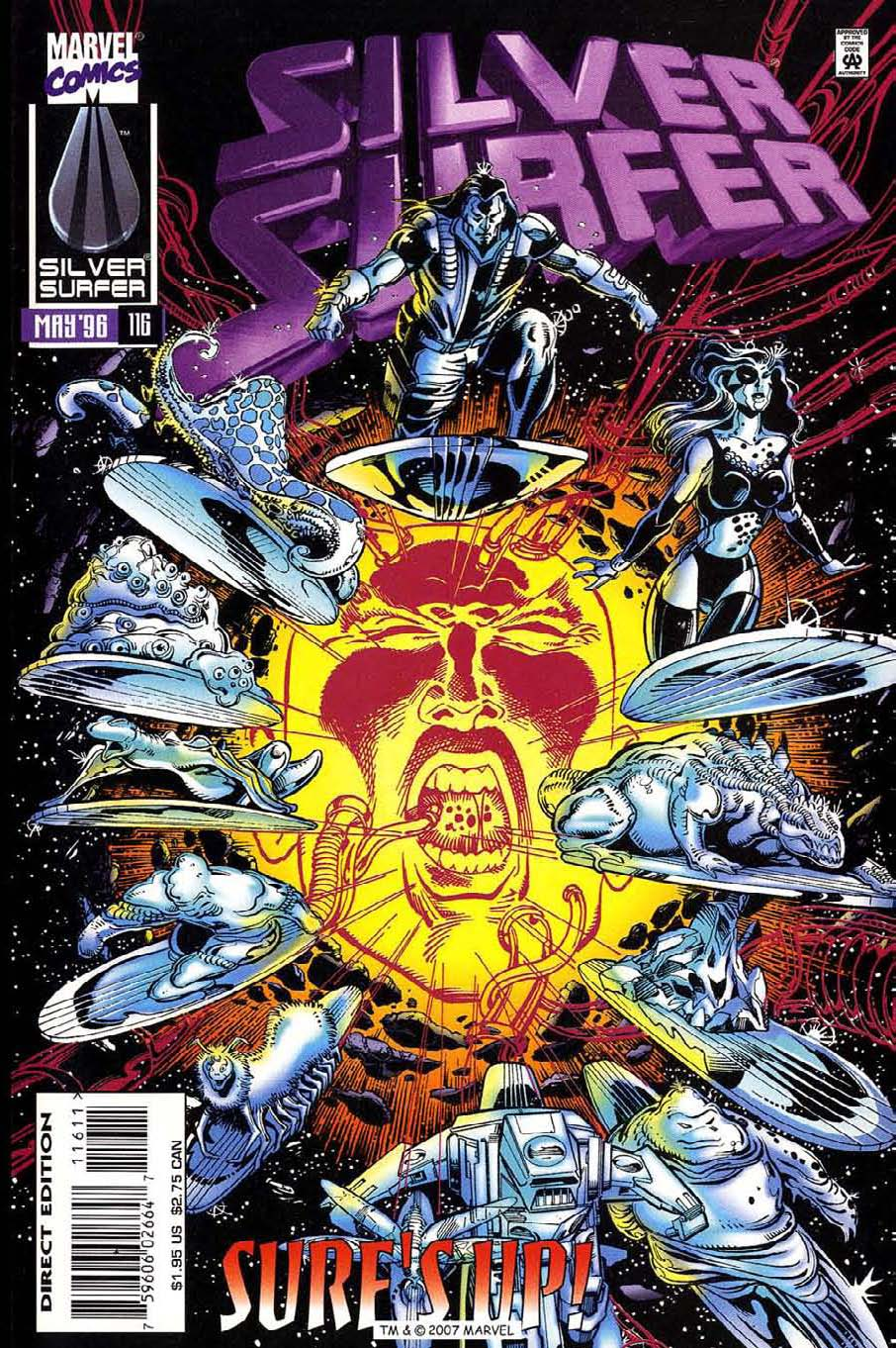 Read online Silver Surfer (1987) comic -  Issue #116 - 1