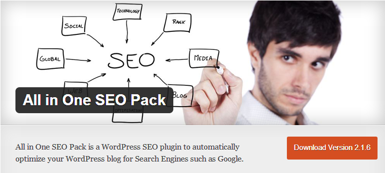 WordPress SEO plugins - All in one SEO