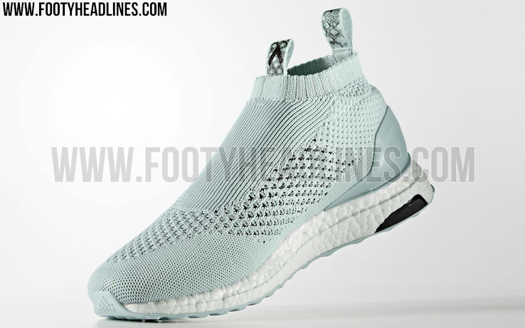 new style e034f ae6cf From a tech standpoint, the all-white Adidas Ace 16+ PureControl Ultra Boost  sneakers combine the laceless upper construction of the football boots with  the ...