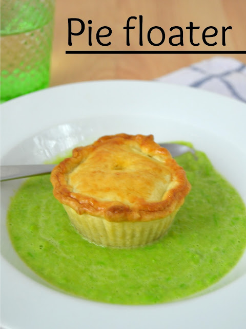 Pie floater. Receta australiana