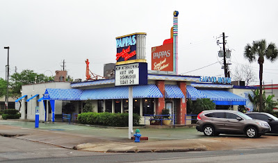 Pappas Seafood House with hiring sign