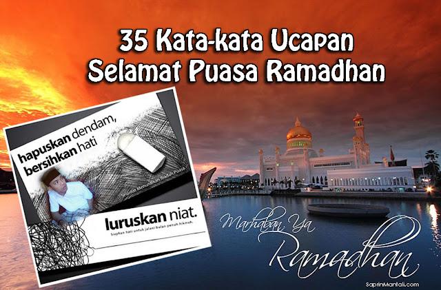 35 Kata-kata Ucapan Selamat Puasa Ramadhan