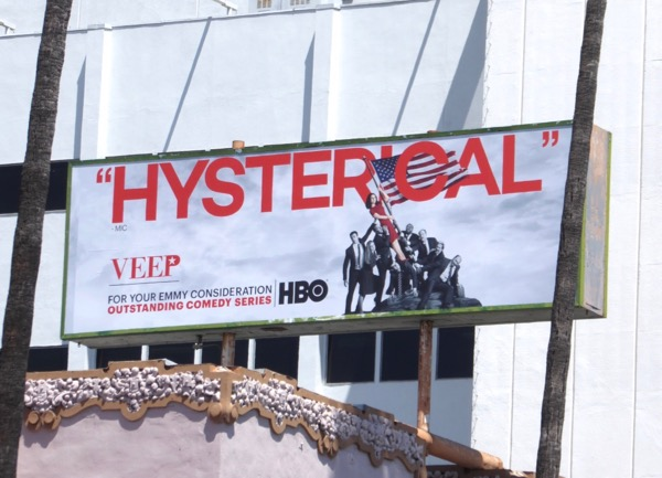 Veep season 6 Hysterical Emmy nominations billboard