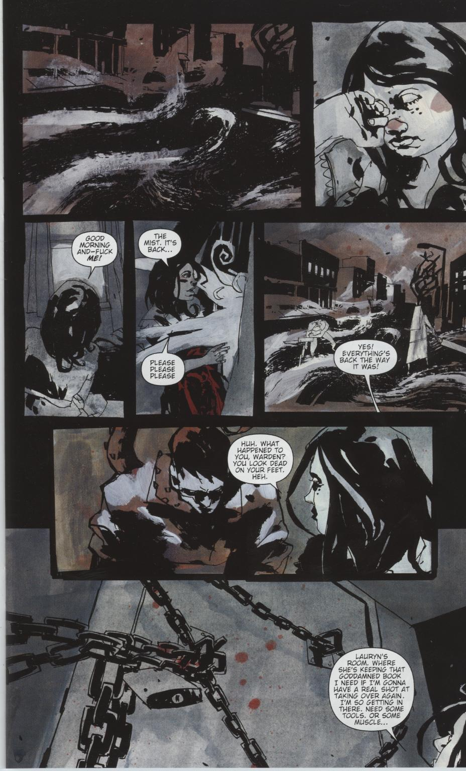 Read online Silent Hill: Dead/Alive comic -  Issue #1 - 11