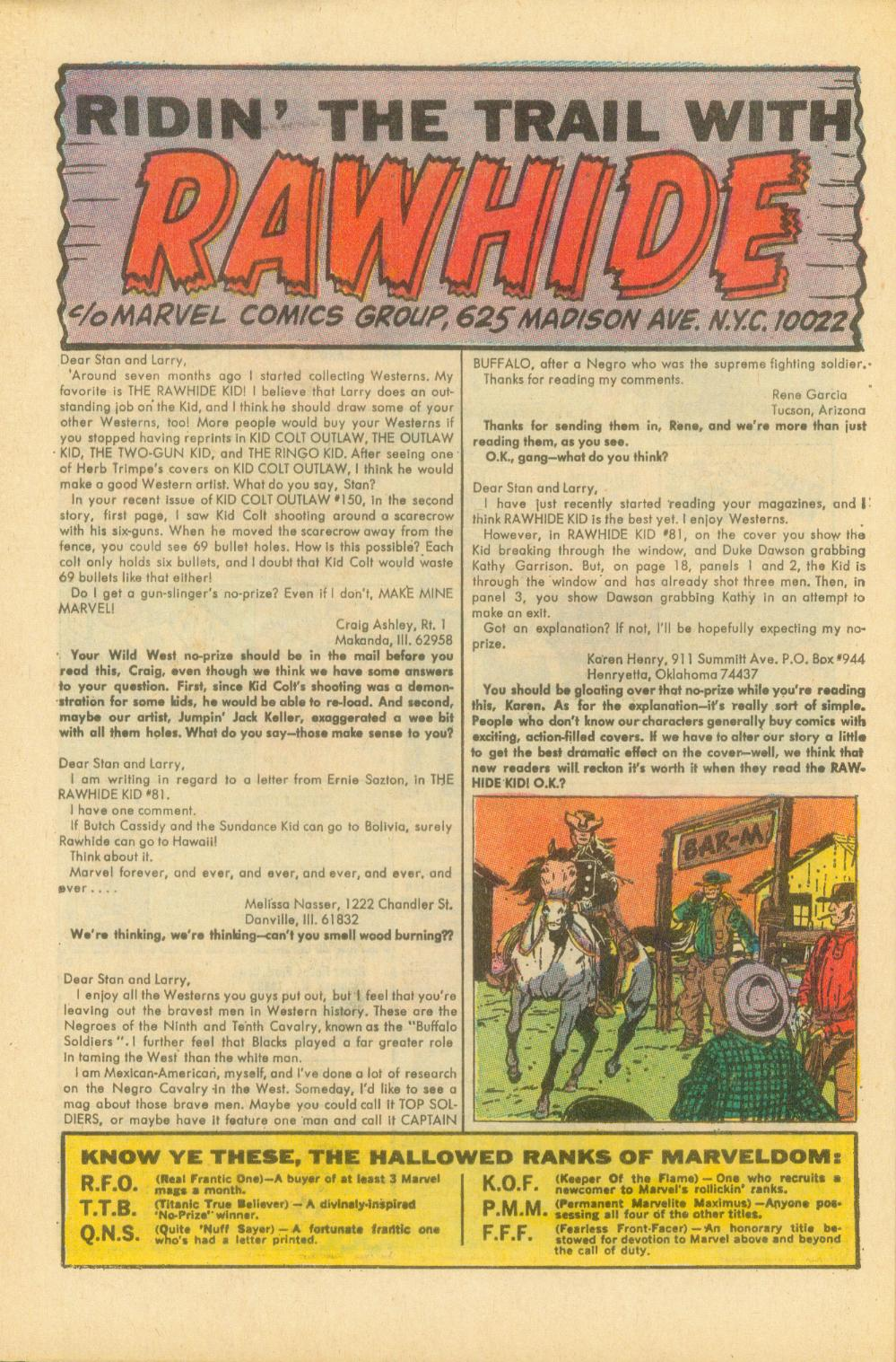 The Rawhide Kid (1955) issue 87 - Page 33