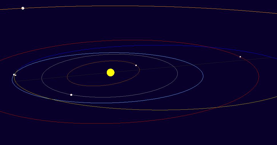asteroid hitting the sun - photo #42