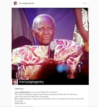 how did bukky ajayi die