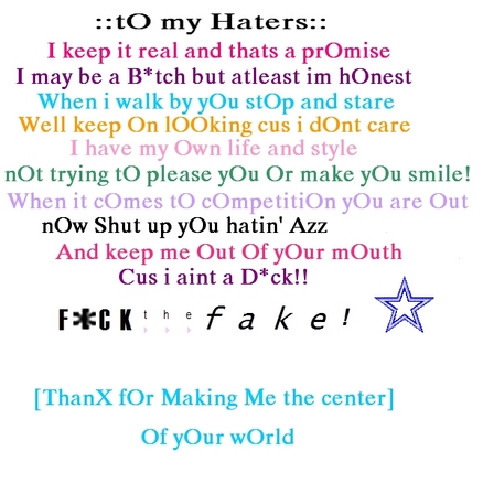 hate haters attitude quote quotesQuotes About Haters