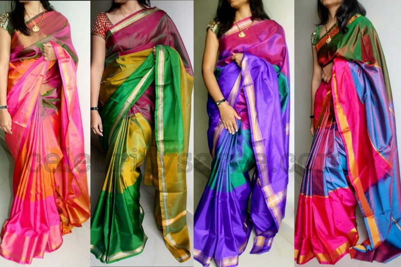 Kinds of Pattu Sarees in South India ~ all trendz