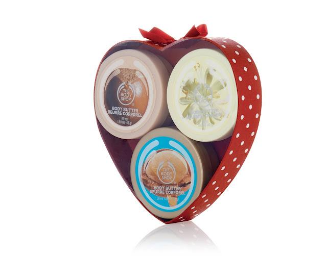 Nutty Body Butter Heart_The Body Shop