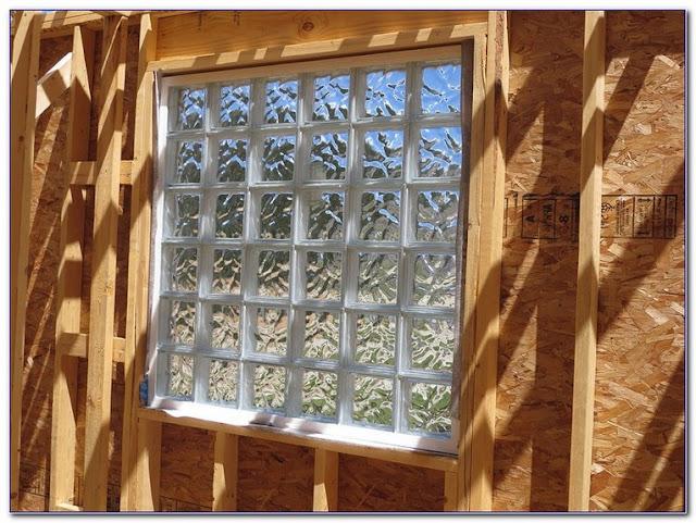 installing individual glass block windows basement