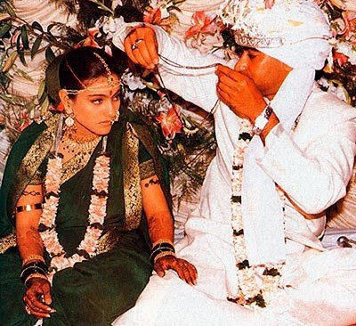Kajol wedding with Devga