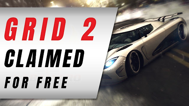 GRID 2, How I Claimed The Game For FREE!