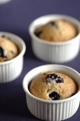 Muffins ai mirtilli e noci