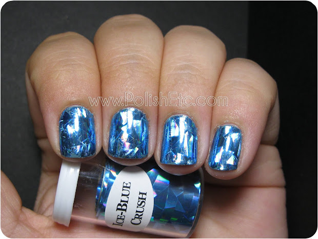 nail foils - ice blue crush