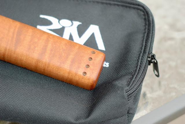 Risa Uke Solid Ukulele headstock holes for strings