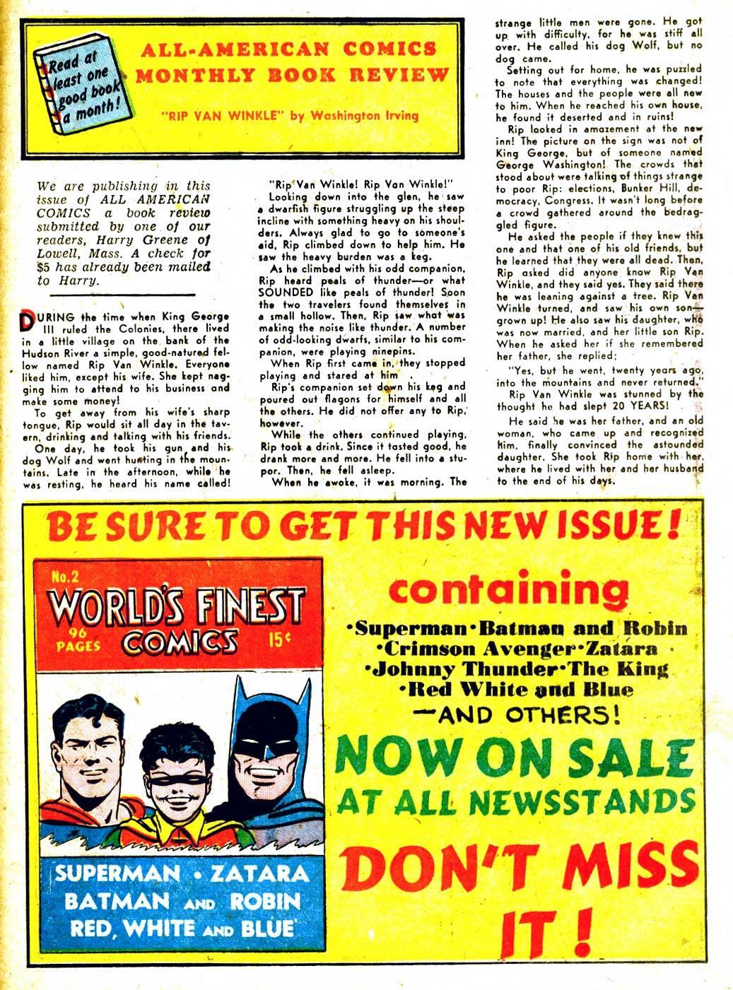 Read online All-American Comics (1939) comic -  Issue #29 - 48
