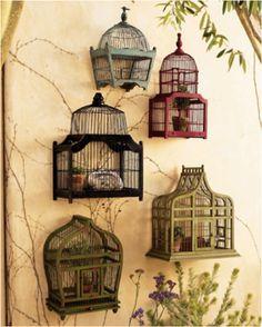 birdcage in home decor