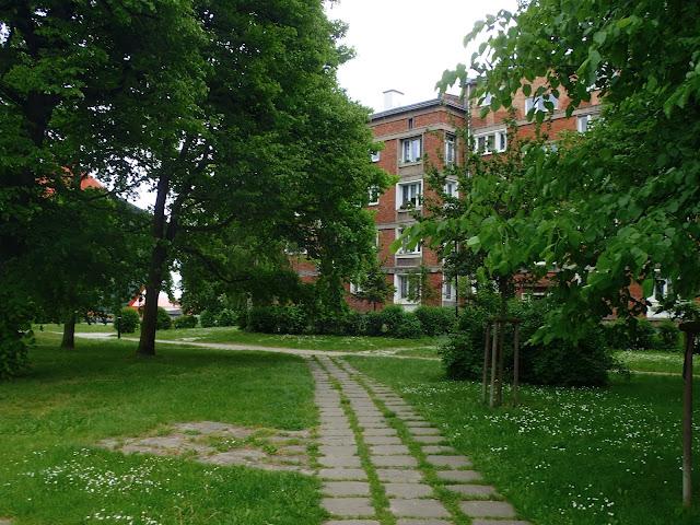 Park koło Poczty Gdańskiej