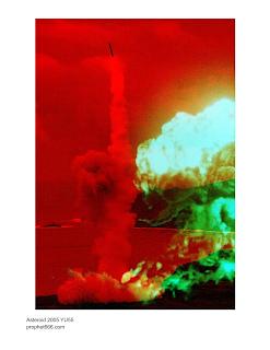Nostradamus Comet Image 3D Artwork
