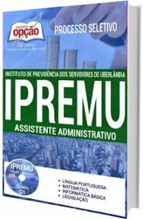 Apostila Concurso IPREMU Uberlândia MG 2017