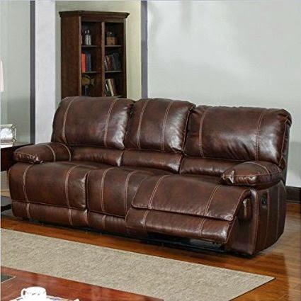Cheap Reclining Sofas Sale Dual Power Reclining Leather Sofa