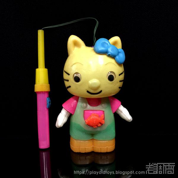 台版玩具 Hello Kitty(凱蒂貓)燈籠,Made In Taiwan Toys,Taiwan Toys,Taiwanese Toys,bootlegtoy Collection,bootleg toys Collection