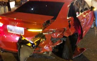 Garçom é preso por embriaguez após acidente que feriu Professora de Dança em Campina Grande