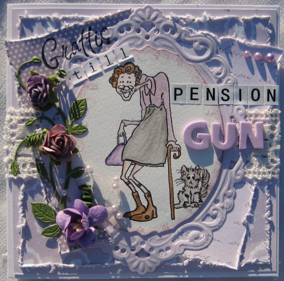 pensions gratulationer Pysselsandra: Grattis till pension pensions gratulationer