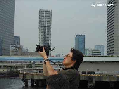An inspiration for a  phtographer - The Sumida River Cruise